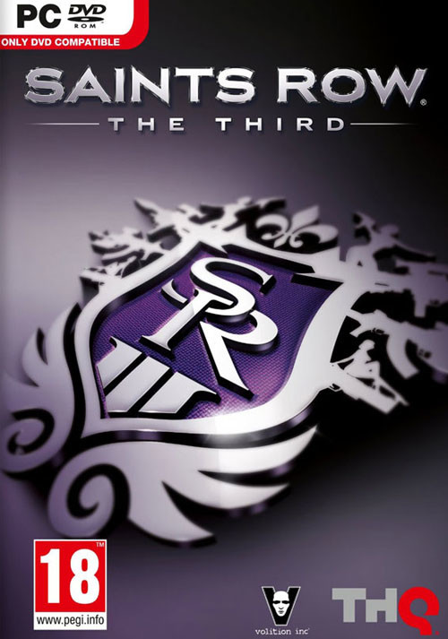 Saints Row: The Third - Cover / Packshot