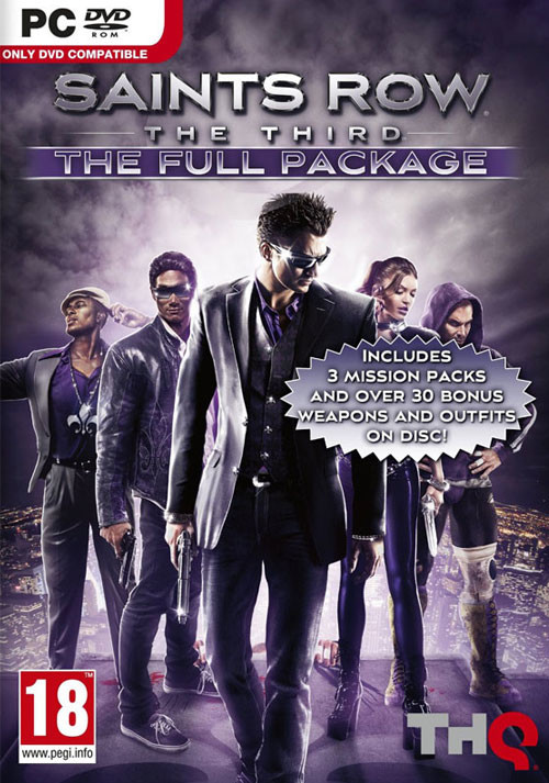 Saints Row: The Third: The Full Package - Cover