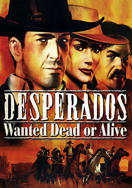 Desperados - Wanted Dead Or Alive - Cover / Packshot