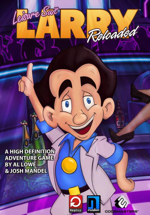 Leisure Suit Larry Reloaded - Cover / Packshot