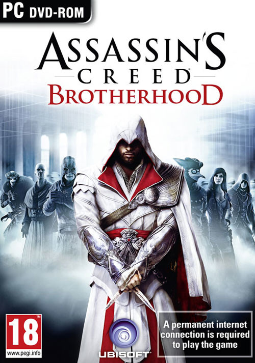 Assassin's Creed Brotherhood - Cover