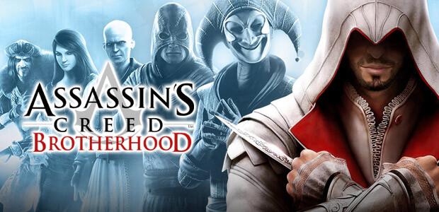 Assassin's Creed Brotherhood - Cover / Packshot