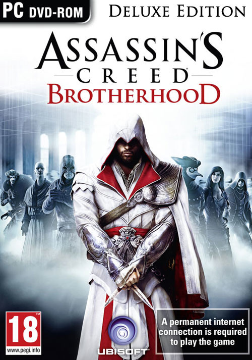 Assassin's Creed Brotherhood Deluxe Edition - Cover