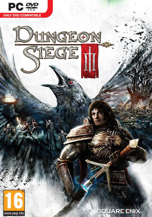 Dungeon Siege 3 - Cover / Packshot