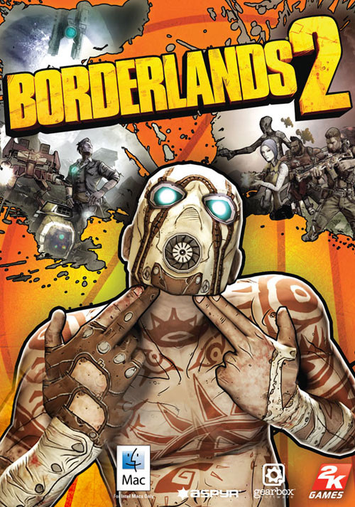 Borderlands 2 (Mac) - Packshot