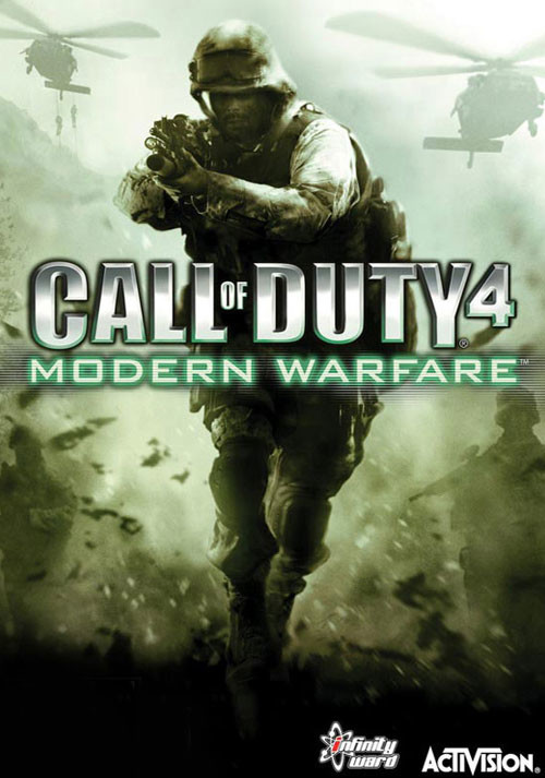 Call of Duty 4: Modern Warfare - Cover / Packshot