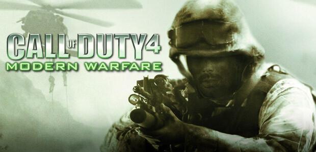 Call of Duty 4: Modern Warfare - Cover / Packshot