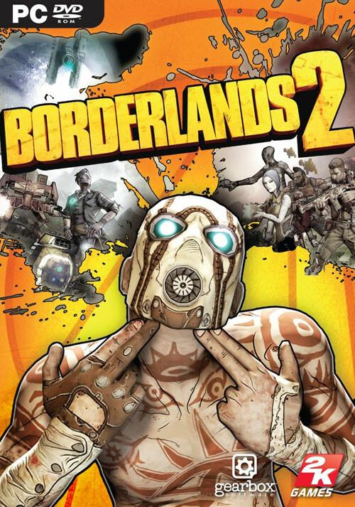 Borderlands 2 - Cover / Packshot