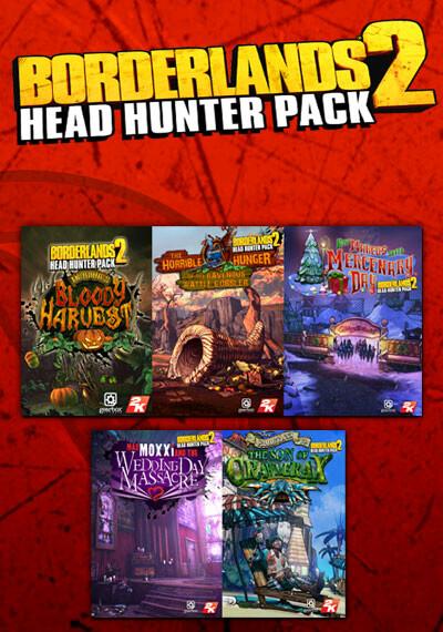 Borderlands 2: Headhunter Pack - Cover