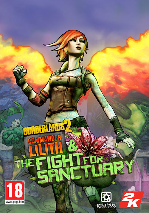 Borderlands 2: Commander Lilith & the Fight for Sanctuary - Cover