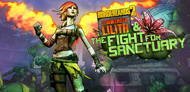 Borderlands 2: Commander Lilith & the Fight for Sanctuary - Cover / Packshot
