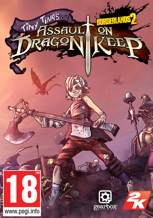Borderlands 2: Tiny Tina's Assault on Dragon Keep DLC - Cover