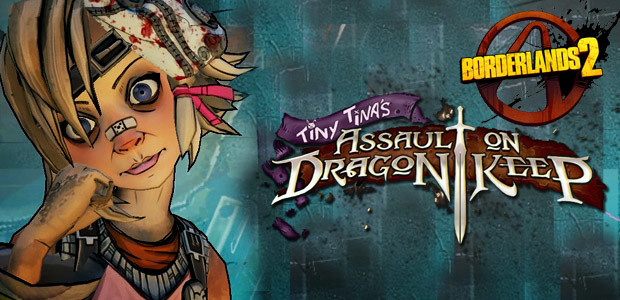 Borderlands 2: Tiny Tina's Assault on Dragon Keep DLC - Cover / Packshot