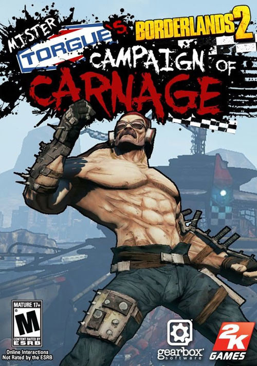 Borderlands 2: Mr. Torgue's Campaign of Carnage DLC - Cover / Packshot