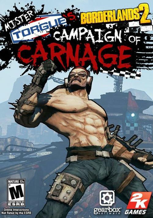 Borderlands 2: Mr. Torgue's Campaign of Carnage DLC - Cover / Packshot