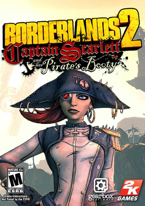 Borderlands 2: Captain Scarlett DLC - Cover / Packshot