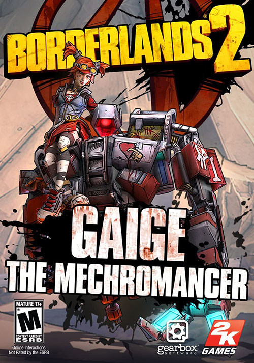 Borderlands 2: Mechromancer Pack DLC - Cover
