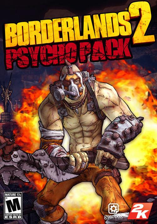 Borderlands 2: Psycho Pack DLC - Cover / Packshot