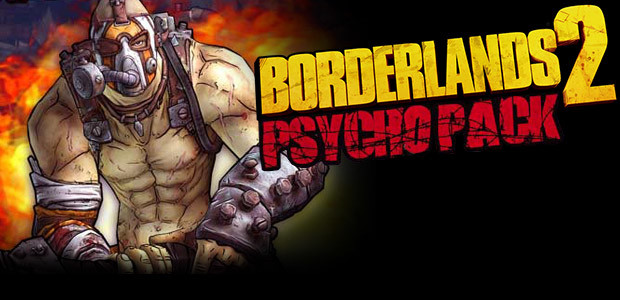 Borderlands 2: Psycho Pack DLC - Cover / Packshot