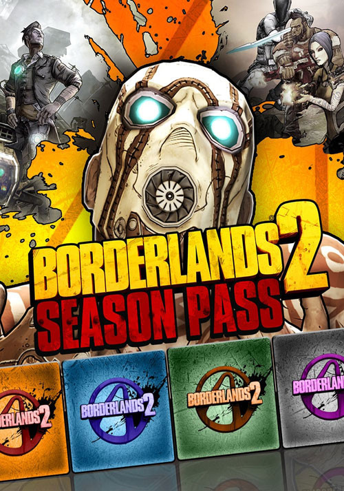 Borderlands 2 Season Pass - Cover