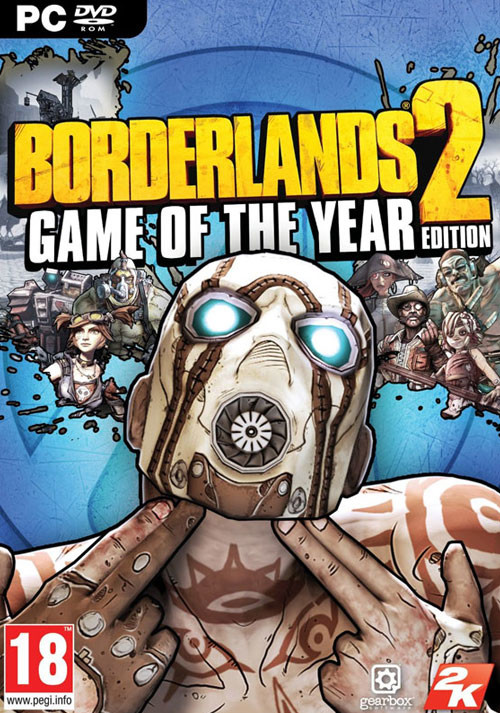 Borderlands 2: Game of the Year Edition - Cover / Packshot