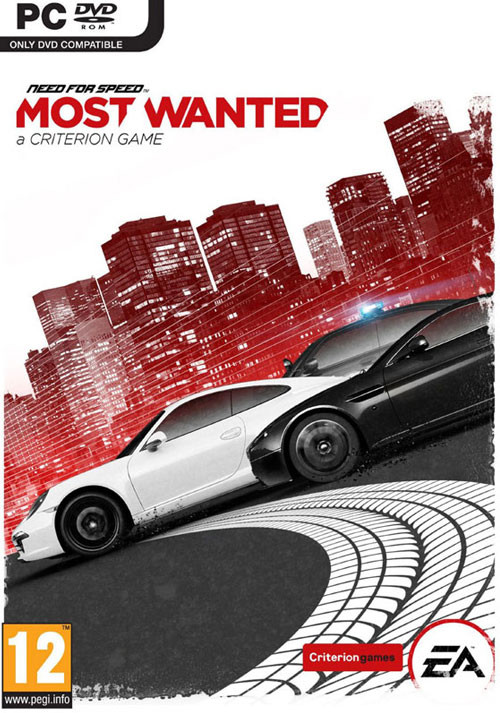 Need for Speed: Most Wanted - Packshot