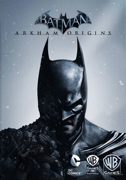Batman Arkham Origins - Cover / Packshot