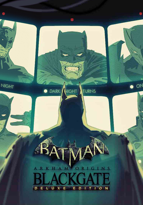 Batman Arkham Origins: Blackgate - Deluxe Edition - Cover / Packshot