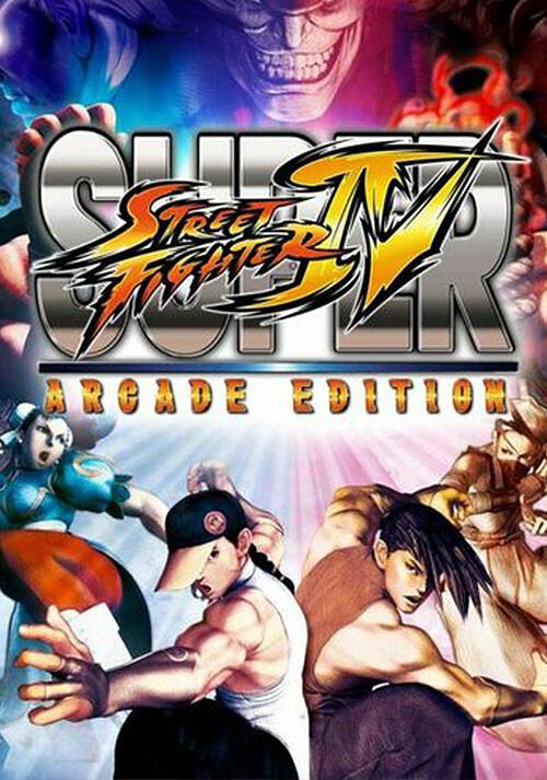 Super Street Fighter IV Arcade Edition - Cover / Packshot