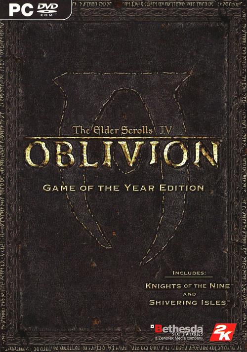 The Elder Scrolls IV: Oblivion GOTY Edition - Packshot