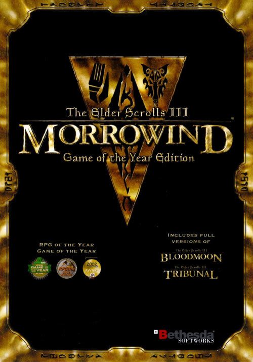 The Elder Scrolls III: Morrowind - Game of the Year Edition - Cover / Packshot
