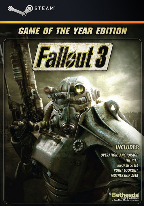 Fallout 3 - Game Of The Year Edition - Cover / Packshot