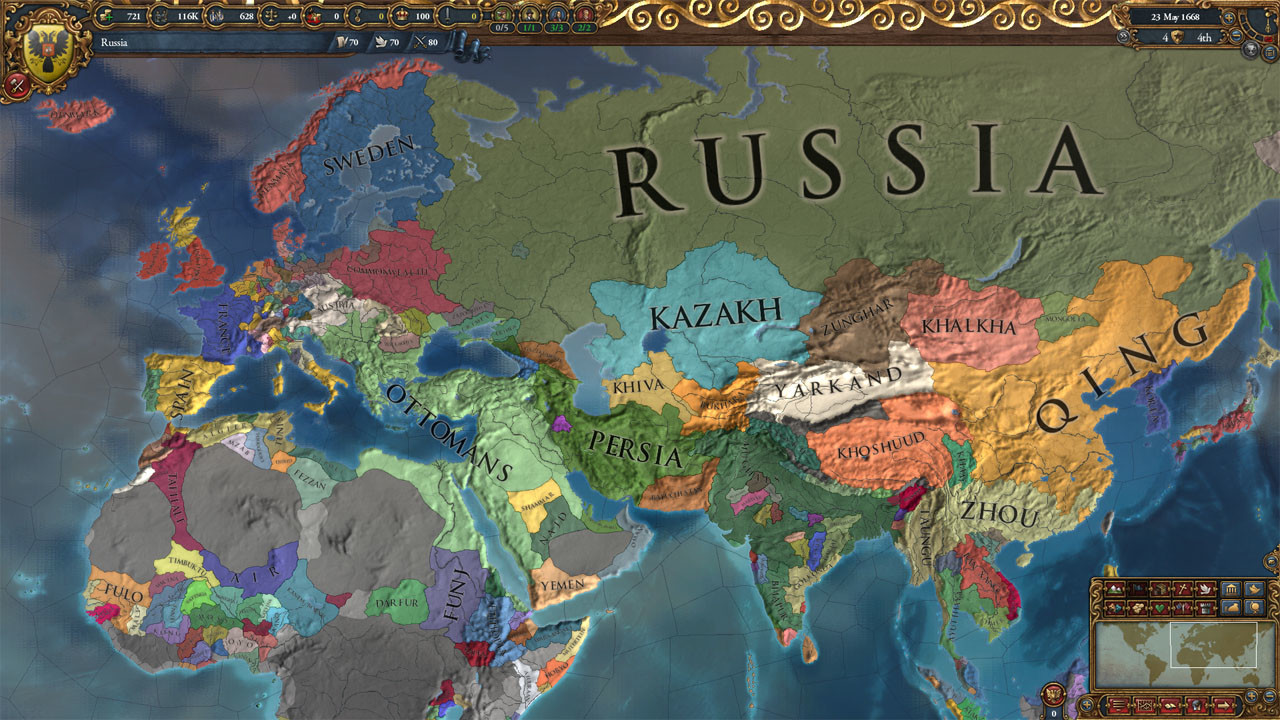 Europa Universalis IV [Steam CD Key] for PC, Mac and Linux - Buy now