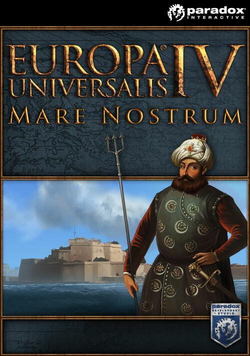 Europa Universalis IV: Mare Nostrum - Cover