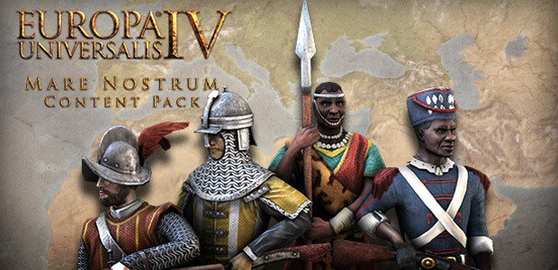 Europa Universalis IV: Mare Nostrum Content Pack - Cover / Packshot