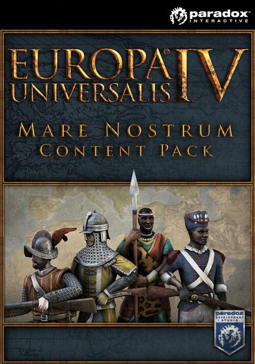 Europa Universalis IV: Mare Nostrum Content Pack - Cover / Packshot