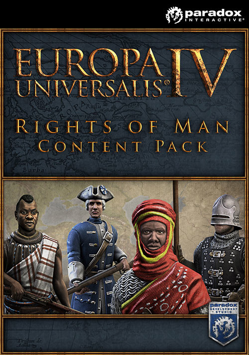 Europa Universalis IV: Rights of Man Content Pack  - Cover / Packshot