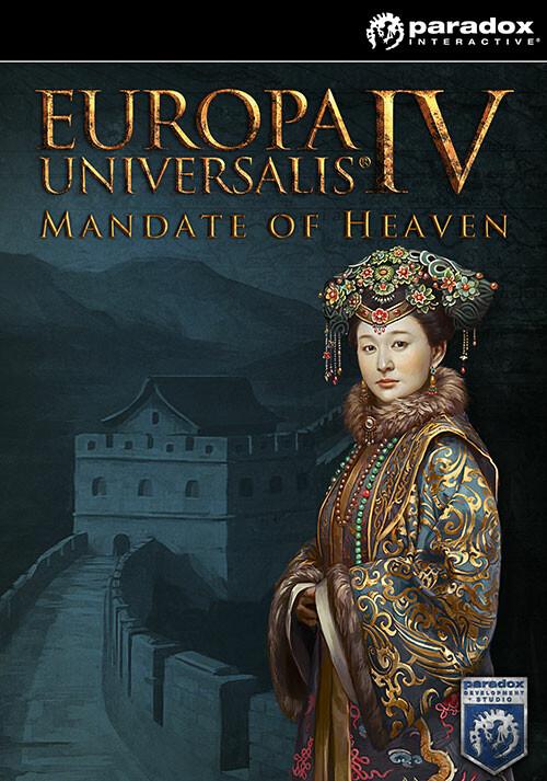 Europa Universalis IV: Mandate of Heaven - Cover