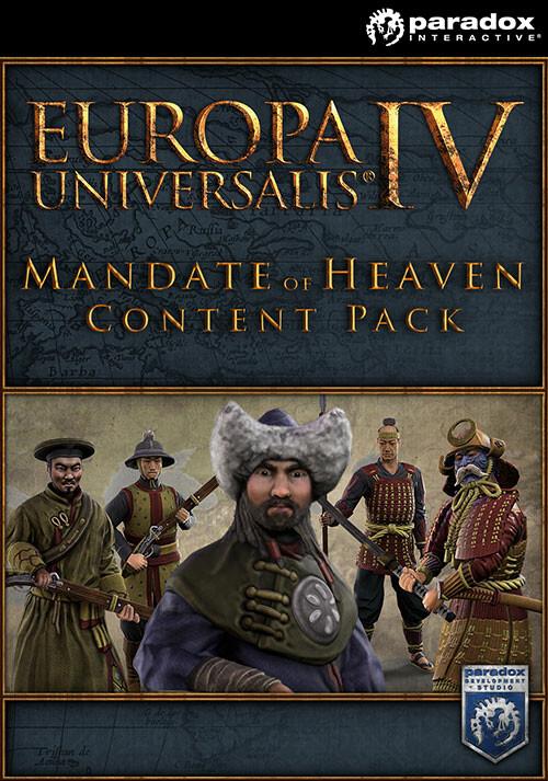 Europa Universalis IV: Mandate of Heaven Content Pack - Packshot