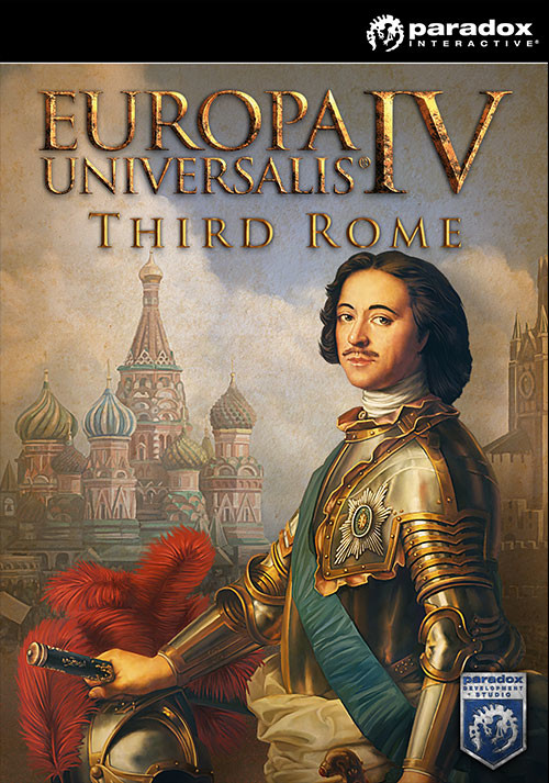 Europa Universalis IV: Third Rome - Cover