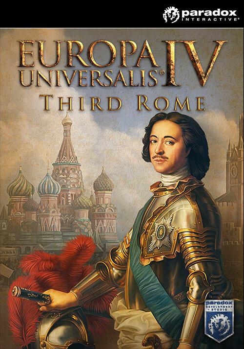Europa Universalis IV: Third Rome - Cover / Packshot
