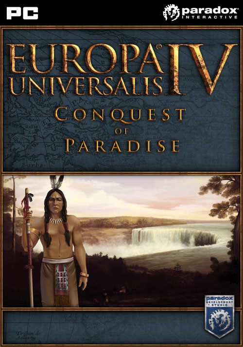 Europa Universalis IV: Conquest of Paradise (Expansion) - Cover / Packshot
