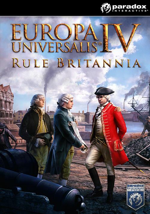 Europa Universalis IV: Rule Britannia - Cover / Packshot