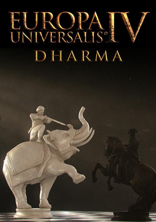 Europa Universalis IV: Dharma - Cover