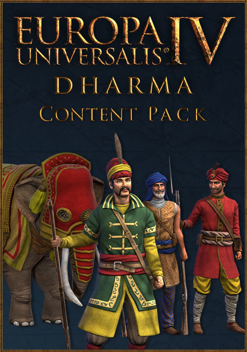 Europa Universalis IV: Dharma Content Pack - Cover