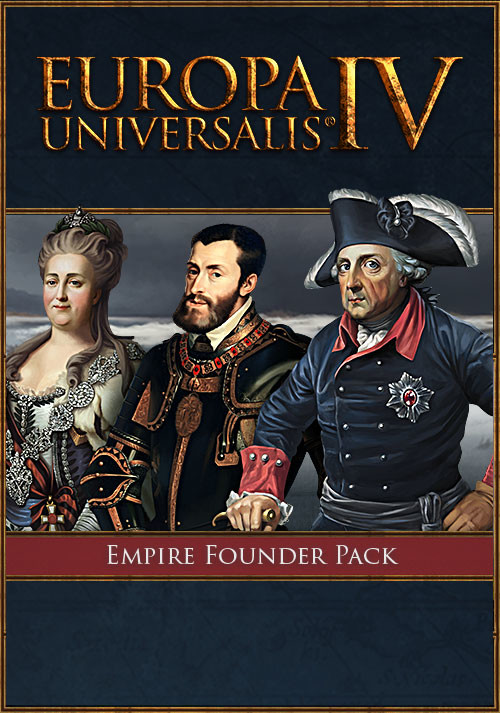 Europa Universalis IV: Empire Founder Pack - Cover