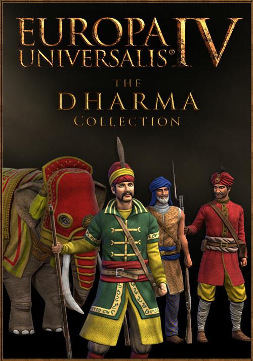 Europa Universalis IV: Dharma Collection - Cover