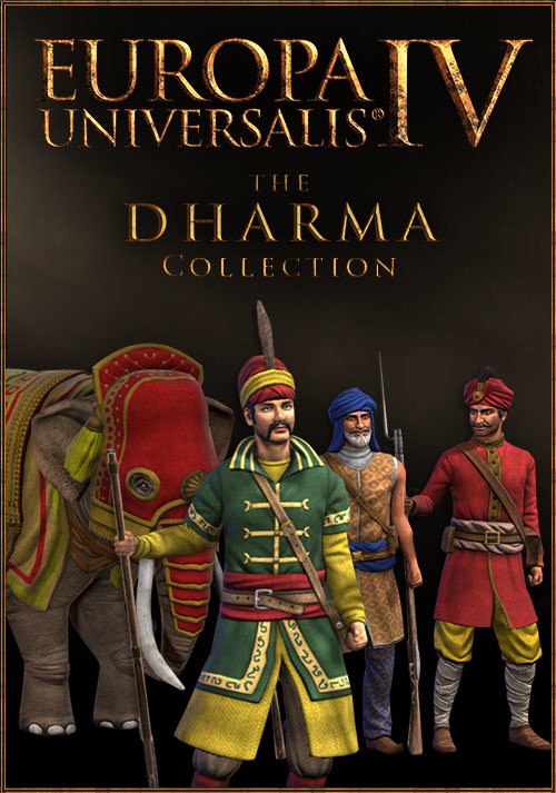 Europa Universalis IV: Dharma Collection - Cover / Packshot