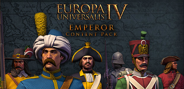Europa Universalis IV: Emperor Content Pack - Cover / Packshot