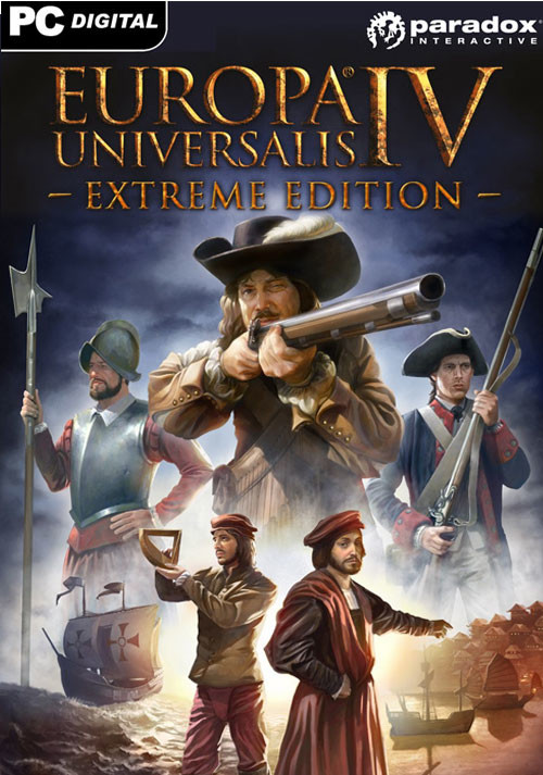 Europa Universalis IV: Digital Extreme Edition - Cover